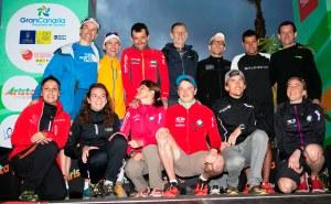 Corredores de montaña: Miguel Heras con el resto de favoritos previo Transgrancanaria 2013