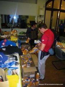 Campus trail: Eligiendo materiales para las pruebas de campo.
