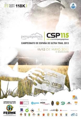 CSP115 Campeonato España ultra trail 2013.