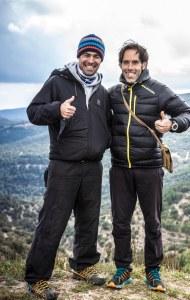 CSP115 training camp. Pablo Criado e Iván Ortiz. Foto: Org.