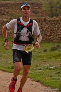 Remi Queral campeón de España de Ultra trail 2013 en CSP118 Castellón.