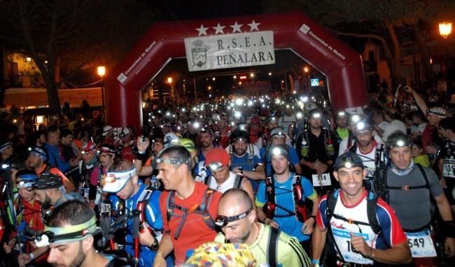 Gran Trail Peñalara 2013 Salida. Foto: Carlos Muñoz Repiso.