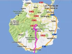 Transgrancanaria 2014 Recorrido Maraton 42k