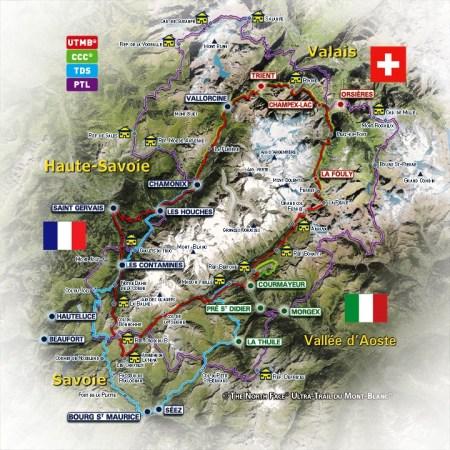 Ultra trail de mont blanc 2013 Recorridos UTMB, CCC, TDS, PTL.