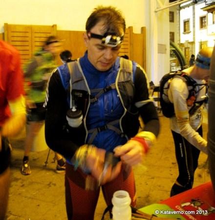 Hidratación deportiva Cantio en Transgrancanaria 2013