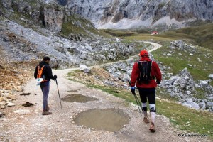 ultra trail desafio cantabria: Salida de Aliva. foto kataverno