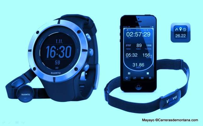 Reloj GPS versus Smartphone con pulsómetro