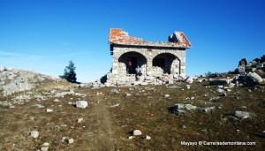 Guadarrama Trail race: Ruinas del Ref. La salamanca en GR10 hacia El Escorial