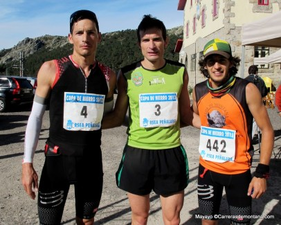 carreras montaña madrid cross cuerda larga 2013 fotos mayayo carrerasdemontana.com 1 eliseo bodelon 2 enrique meneses 3 clemente lopez