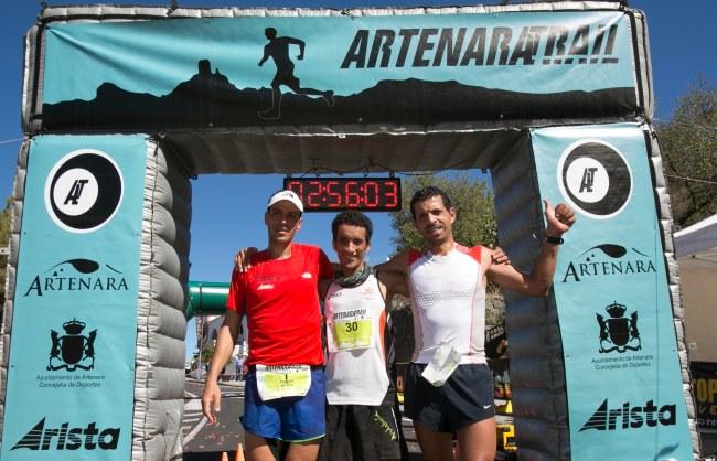 Artenara Trail 2013: Podio de excepción.