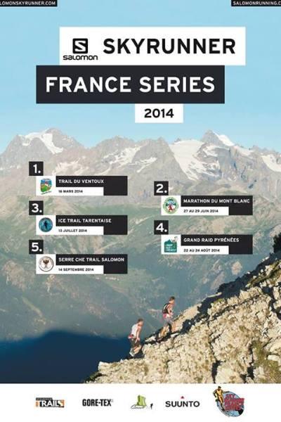 Calendario carreras Montaña 2014 francia Skyrunner Series