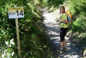 Roncesvalles Zubiri 2006: Corredores y marchadores compartían prueba en sus inicios.