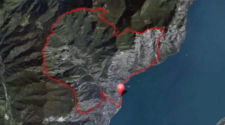 Skyrunning 2013 Limone extreme Skyrace mapa carrera