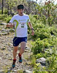 Zapatillas trail Scott Kinabalu T2: Pablo Villa en competición.
