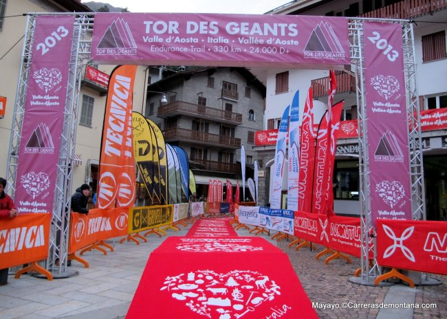 Carreras Montaña 2013: La meta del Tor des Geants, puntuable ranking ultras skyrunning