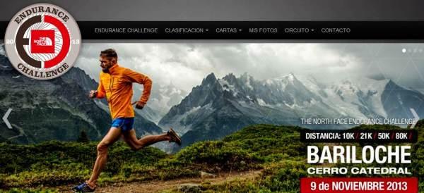Ultra trail Argentina TNF Endurance Challenge 2013