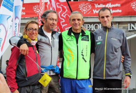 Bruno Brunod, Iker Karrera y Francesca Canepa meta Tor des Geants 2013