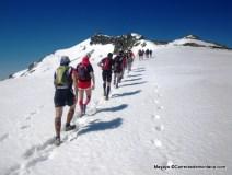 Entrenamiento carreras montaña: Preparando gran trail peñalara GTP 2013 en cresta Claveles.