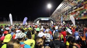 Spain Ultra Cup 2014: Acercándose a la línea de salida.