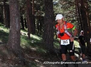 Spain Ultra Cup: Salvador Calvo en el Gran Trail Peñalara 2013
