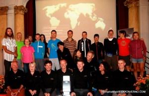Presentacion Ultra trail World Tour en Chamonix durante UTMB13. Foto Kataverno.