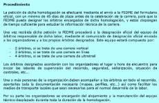 Carreras Montaña 2014 FEDME Número y pago arbitros homologacion