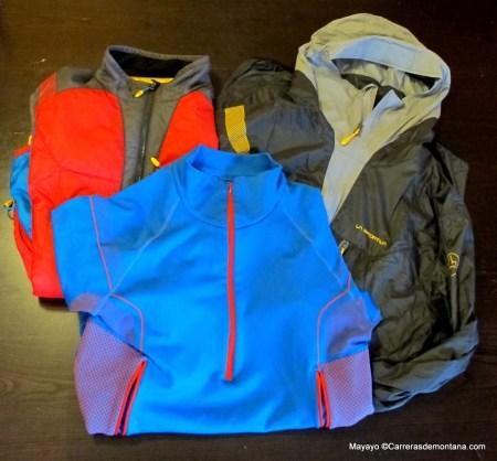 Ropa de Montaña La Sportiva: Muestras de carias capas