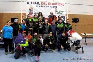 Trail del Serrucho 2014: Alalpardo Running Team.