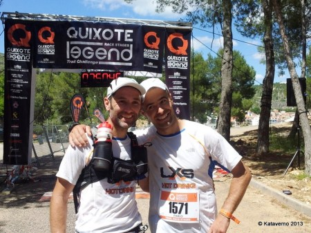 Quixote Legend: Pablo Criado y Chelis Valle, campeones por equipos 2013.