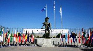 Ultra running: Estatua de Leónidas, meta del Spartathlon.  (Atenas-Esparta)