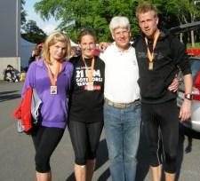 Meta en familia para la Media Maratón Goteborg 2010