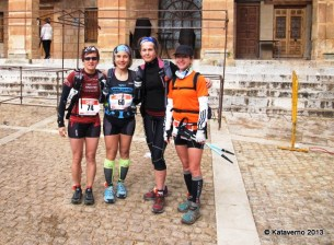 Corredoras de montaña pioneras en la edición inaugural
