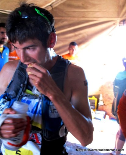 transvulcania 2014 sage canaday en roque de los muchachos foto mayayo