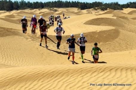 Ultra trail 100km del Sahara: Corriendo por las dunas.
