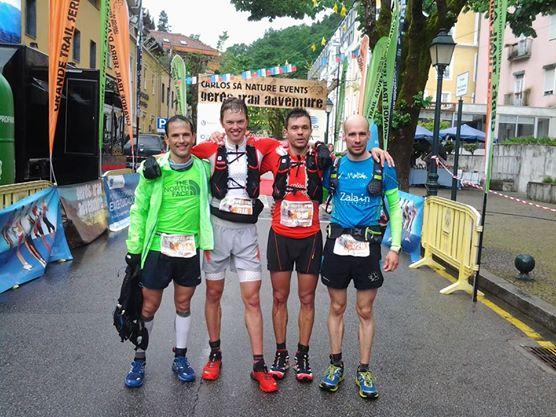 La elite luchando por los 107k: Philippe Reiter y Armando Teixeira 1º Zigor Iturrieta y UNia Santamaría 2º.