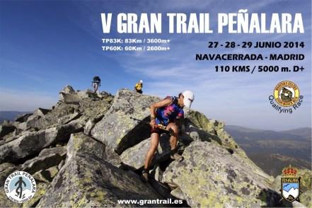 CARTEL 2014 Gran trail peñalara mini