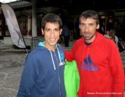 Luis alberto hernando adidas trail con Pablo Villa en previa Matterhorn Ultraks 2013