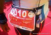 Gran Trail Aneto 2014 Dani Amat, primer plano dorsal tras ganar 109k