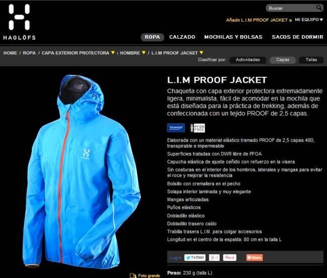 Haglofs Lim proof Jacket