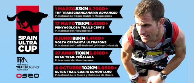 Spain Ultra Cup Calendario Carreras 2014