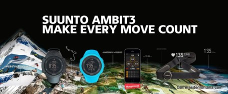Suunto Ambit3 Movescount connections