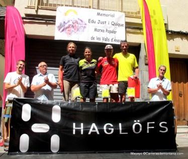 Ultra trail valls d aneu 2014 93k: Ceremonia  entrega premios