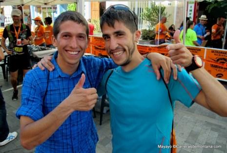 Manuel Merillas y Pablo Villa arrancando temporada 2014 con top10 en Copa del Mundo, Transvulcania.