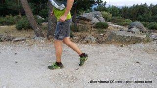 Zapatillas trail running Reebok One Cushion en acción