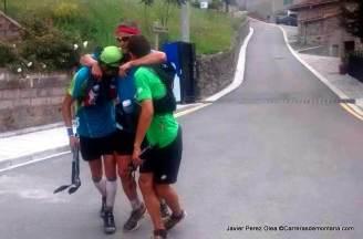 Anillo Picos de Europa: Meta y nuevo record 21h10m para Fran Piñera, Manuel Merilla y Pablo Villa.