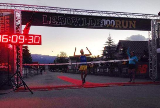 Rob Krar campeon Leadville 100 Miles 2014 Foto Leadville Race Series.