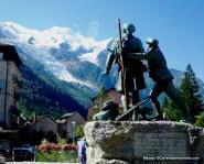 Monumento a los vencedores del Mont Blanc