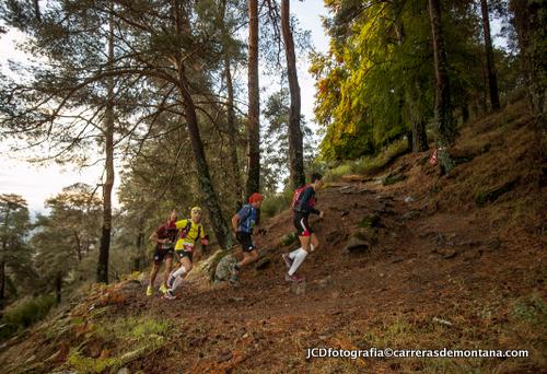 Trail Madrid 2014: Ascensión hacia Abantos Foto: Jcdfotografía.