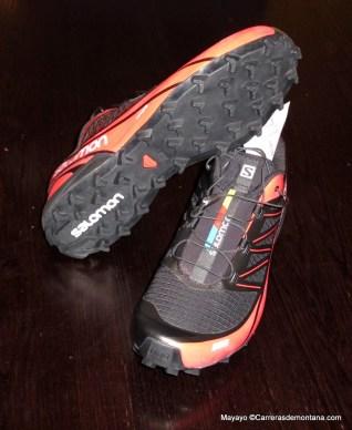 Zapatillas salomon Fellcross 3: Cubierta y suela. Foto Mayayo