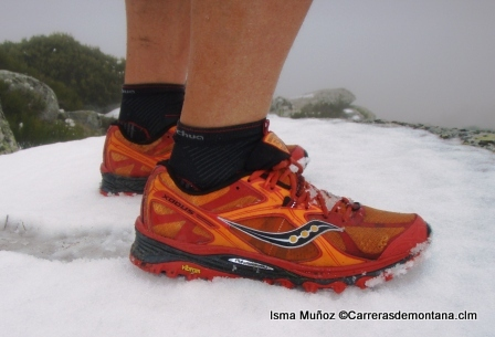 Saucony Xodus 5 en las primeras nieves del Guadarrama